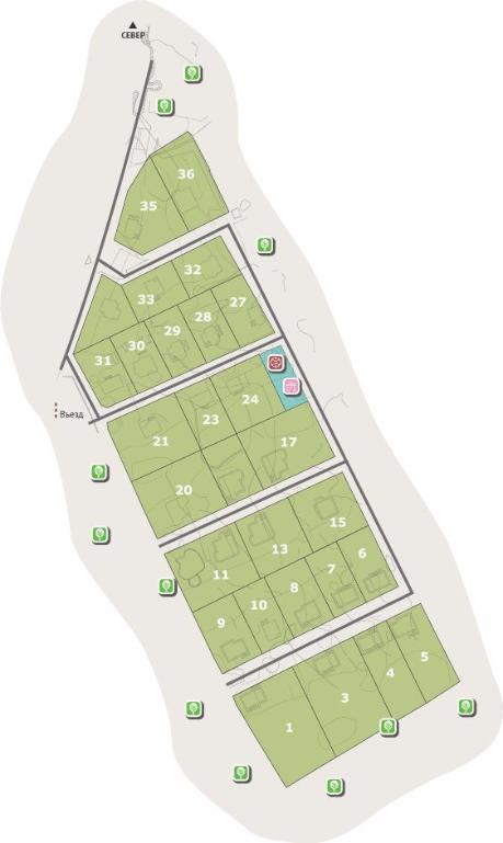 КП «Западный парк» генплан №1