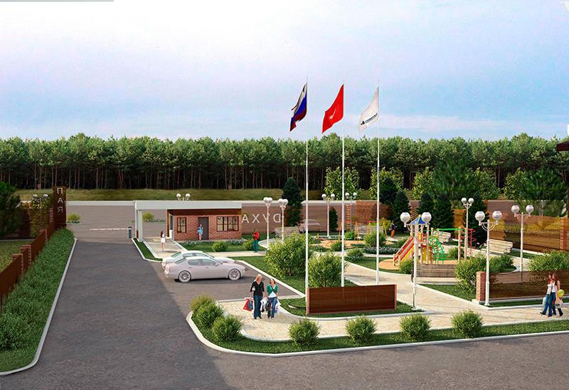 Коттеджный посёлок  «Духанино Парк» по адресу Московская обл, Истринский р-н, Духанино д в 30.8км от МКАД предложения по цене от 630 900 руб.