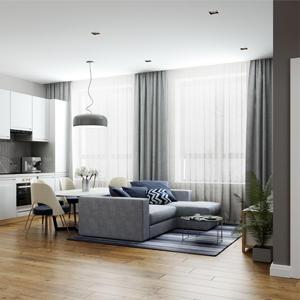 Покупатели выбирают жилье с отделкой в стиле минимализм